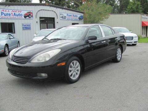 2003 Lexus ES 300 for sale at Pure 1 Auto in New Bern NC