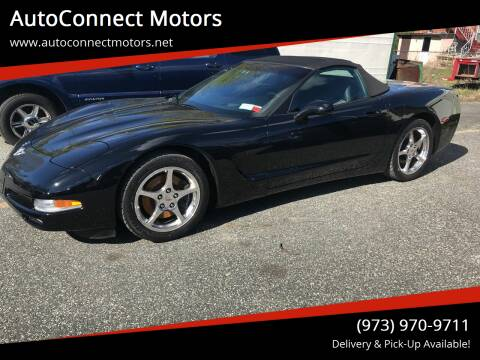2003 Chevrolet Corvette for sale at AutoConnect Motors in Kenvil NJ