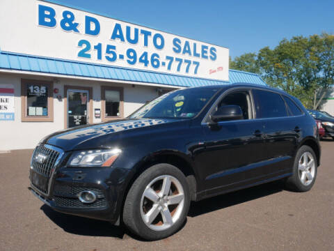 2012 Audi Q5 for sale at B & D Auto Sales Inc. in Fairless Hills PA