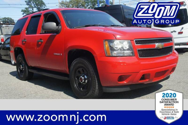 2008 Chevrolet Tahoe for sale at Zoom Auto Group in Parsippany NJ