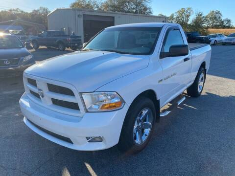 2012 RAM Ram Pickup 1500 for sale at Brewster Used Cars in Anderson SC