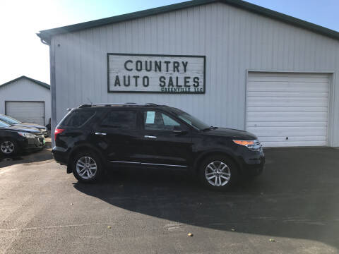 2011 Ford Explorer for sale at COUNTRY AUTO SALES LLC in Greenville OH
