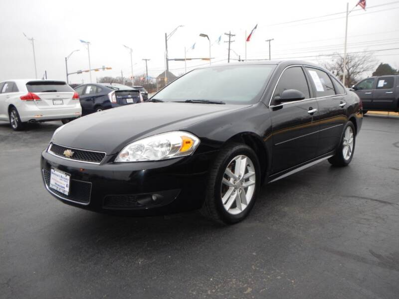 2016 Chevrolet Impala Limited for sale at Browning's Reliable Cars & Trucks in Wichita Falls TX