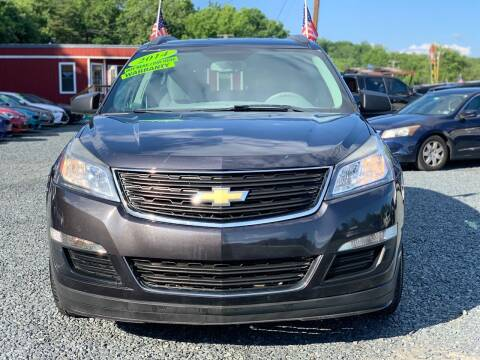 2014 Chevrolet Traverse for sale at A&M Auto Sales in Edgewood MD