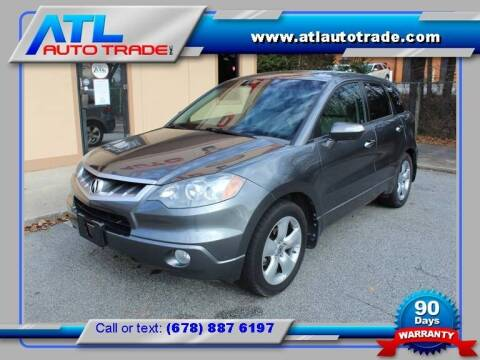 2009 Acura RDX for sale at ATL Auto Trade, Inc. in Stone Mountain GA