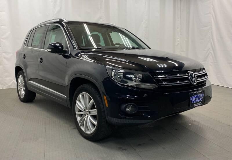 2013 Volkswagen Tiguan for sale at Direct Auto Sales in Philadelphia PA