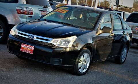 2011 Ford Focus for sale at SOLOMA AUTO SALES in Grand Island NE