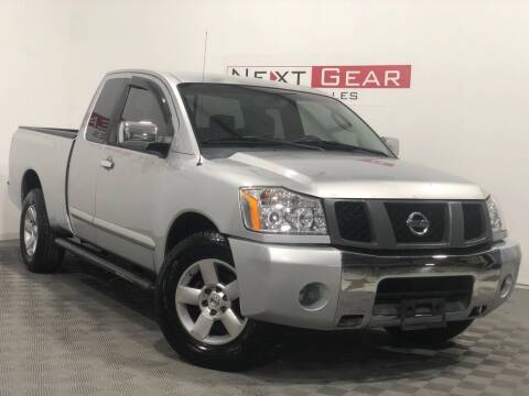 2004 Nissan Titan for sale at Next Gear Auto Sales in Westfield IN