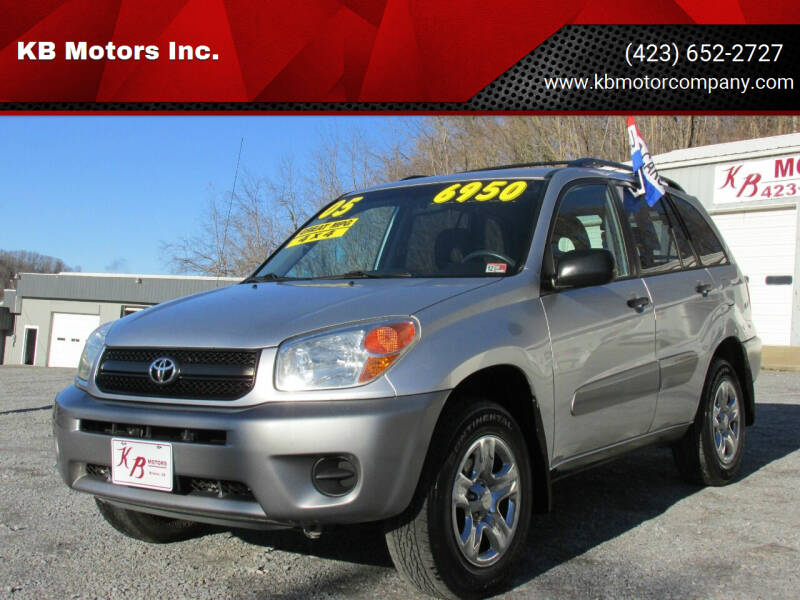 2005 Toyota RAV4 for sale at KB Motors Inc. in Bristol VA