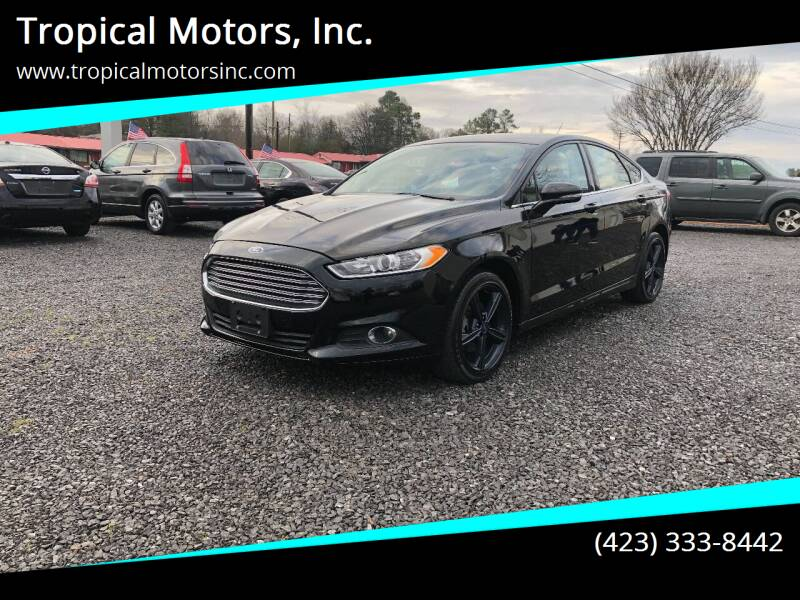 2016 Ford Fusion for sale at Tropical Motors, Inc. in Riceville TN