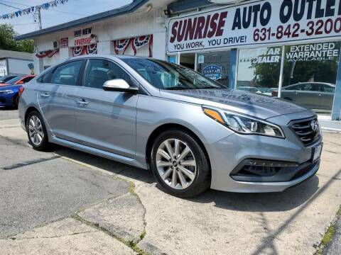 2017 Hyundai Sonata for sale at Sunrise Auto Outlet in Amityville NY