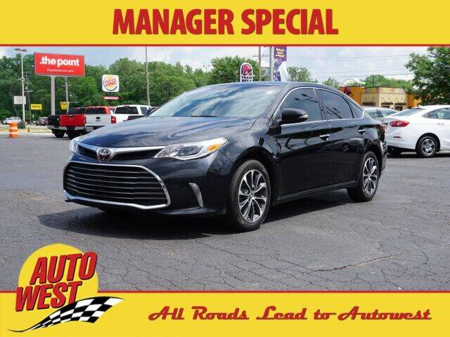 2018 Toyota Avalon for sale at Autowest of GR in Grand Rapids MI