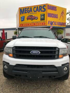 2016 Ford Expedition EL for sale at Mega Cars of Greenville in Greenville SC
