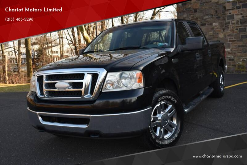 2007 Ford F-150 for sale at Chariot Motors Limited in Feasterville Trevose PA