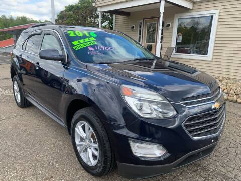 2016 Chevrolet Equinox for sale at G & G Auto Sales in Steubenville OH