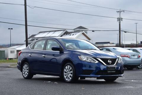 2017 Nissan Sentra for sale at Broadway Garage of Columbia County Inc. in Hudson NY