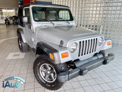 2004 Jeep Wrangler for sale at iAuto in Cincinnati OH