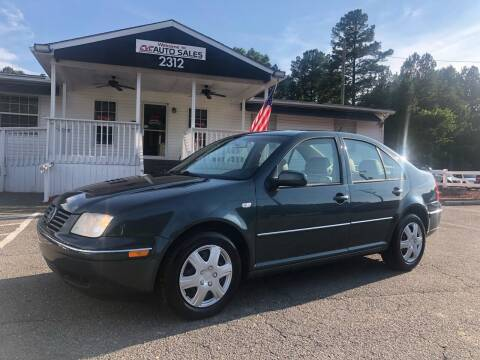 2004 Volkswagen Jetta for sale at CVC AUTO SALES in Durham NC