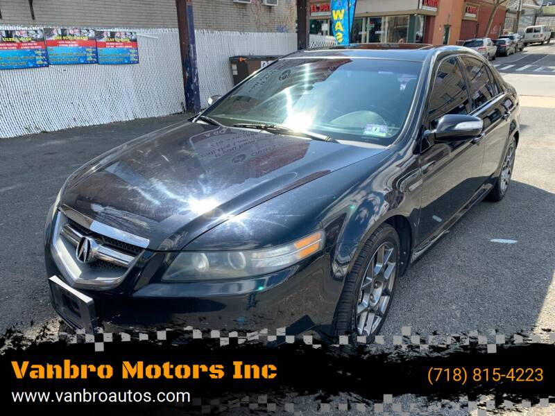 2008 Acura TL for sale at Vanbro Motors Inc in Staten Island NY