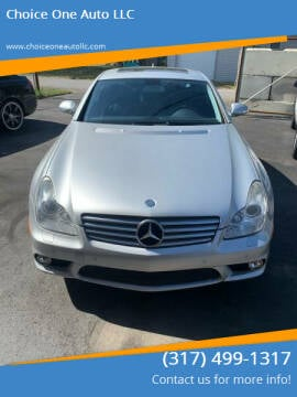 2007 Mercedes-Benz CLS for sale at Choice One Auto LLC in Beech Grove IN