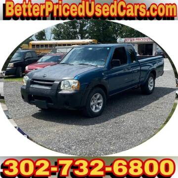 2001 Nissan Frontier for sale at Better Priced Used Cars in Frankford DE