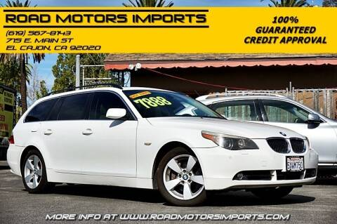 2007 BMW 5 Series for sale at Road Motors Imports in El Cajon CA