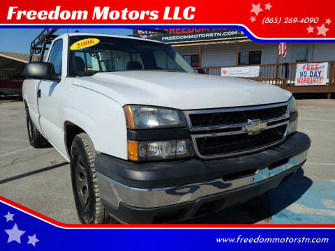 2006 Chevrolet Silverado 1500 for sale at Freedom Motors LLC in Knoxville TN
