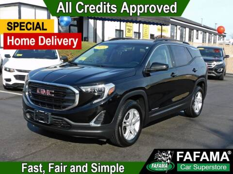 2018 GMC Terrain for sale at FAFAMA AUTO SALES Inc in Milford MA
