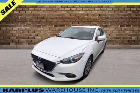 2017 Mazda MAZDA3 for sale at Karplus Warehouse in Pacoima CA