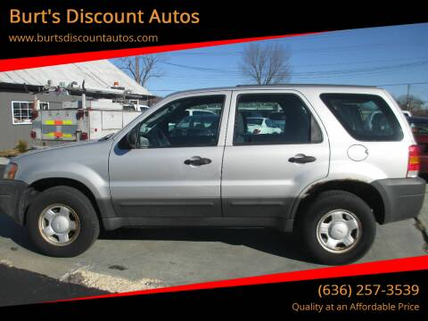 2005 Ford Escape for sale at Burt's Discount Autos in Pacific MO