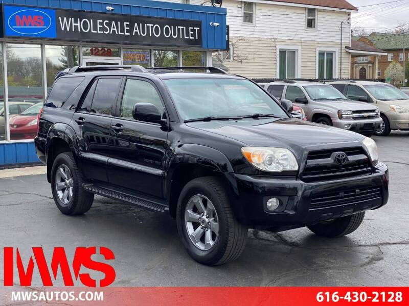 2008 Toyota 4Runner for sale at MWS Wholesale  Auto Outlet in Grand Rapids MI