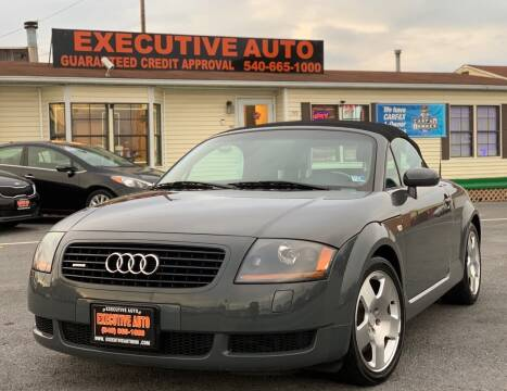 2001 Audi TT for sale at Executive Auto in Winchester VA