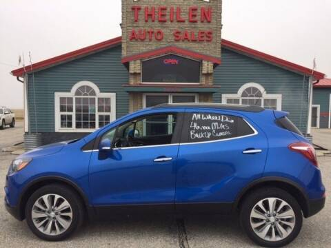 2018 Buick Encore for sale at THEILEN AUTO SALES in Clear Lake IA