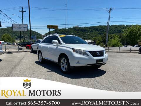 2010 Lexus RX 350 for sale at ROYAL MOTORS LLC in Knoxville TN