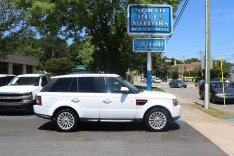 2012 Land Rover Range Rover Sport for sale at North Hills Motors in Raleigh NC