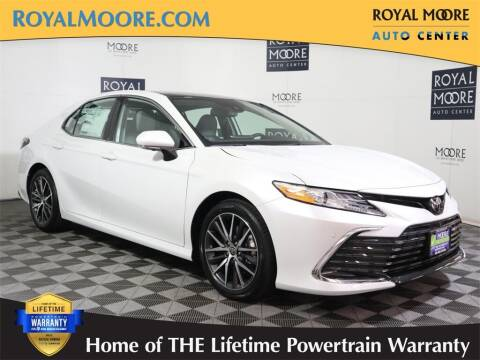 2022 Toyota Camry for sale at Royal Moore Custom Finance in Hillsboro OR