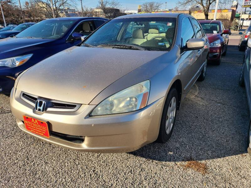2005 Honda Accord for sale at AA Auto Sales LLC in Columbia MO