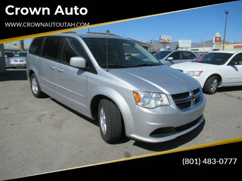 2012 Dodge Grand Caravan for sale at Crown Auto in South Salt Lake City UT