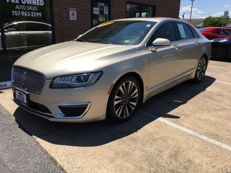 2017 Lincoln MKZ for sale in Norfolk, VA