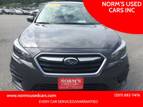 2018 Subaru Legacy for sale at NORM'S USED CARS INC in Wiscasset ME