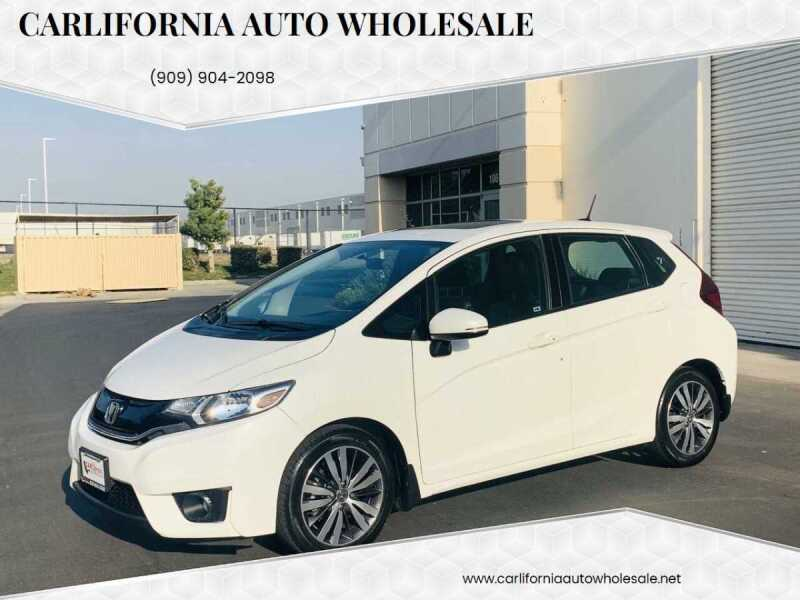 2015 Honda Fit for sale at CARLIFORNIA AUTO WHOLESALE in San Bernardino CA