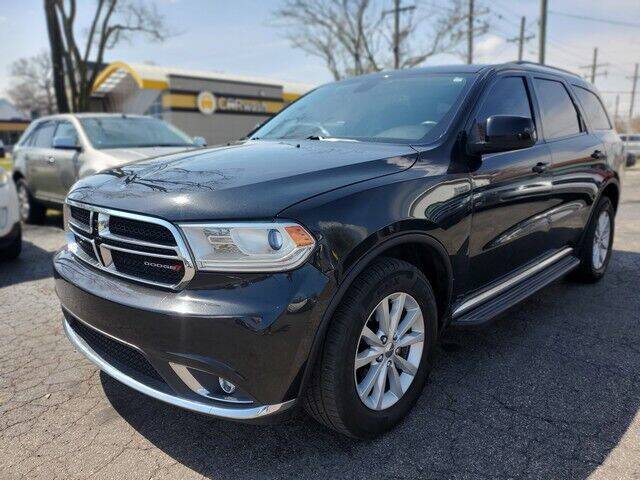 2014 Dodge Durango for sale at Paramount Motors in Taylor MI