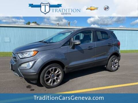 2018 Ford EcoSport for sale at Tradition Chevrolet Buick in Geneva NY