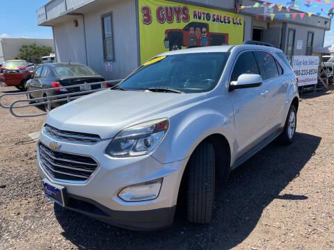 2016 Chevrolet Equinox for sale at 3 Guys Auto Sales LLC in Phoenix AZ
