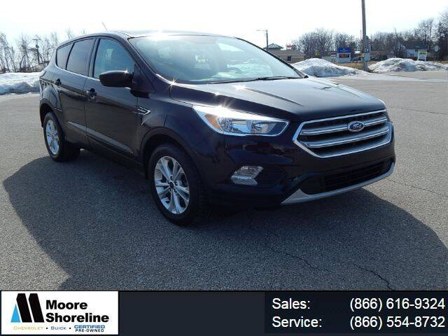 2017 Ford Escape for sale at Moore Shoreline Chevrolet in Sebewaing MI