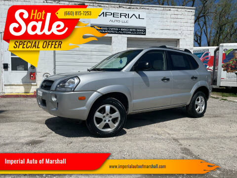2007 Hyundai Tucson for sale at Imperial Auto of Marshall in Marshall MO