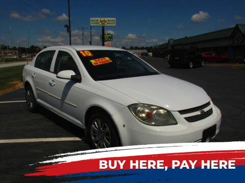 2010 Chevrolet Cobalt for sale at Auto World in Carbondale IL