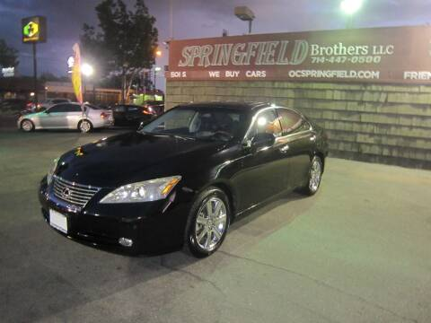 2007 Lexus ES 350 for sale at SPRINGFIELD BROTHERS LLC in Fullerton CA