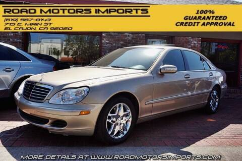 2003 Mercedes-Benz S-Class for sale at Road Motors Imports in El Cajon CA