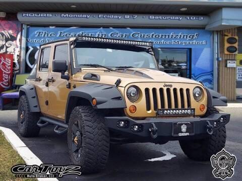 2007 Jeep Wrangler Unlimited for sale at Distinctive Car Toyz in Pleasantville NJ